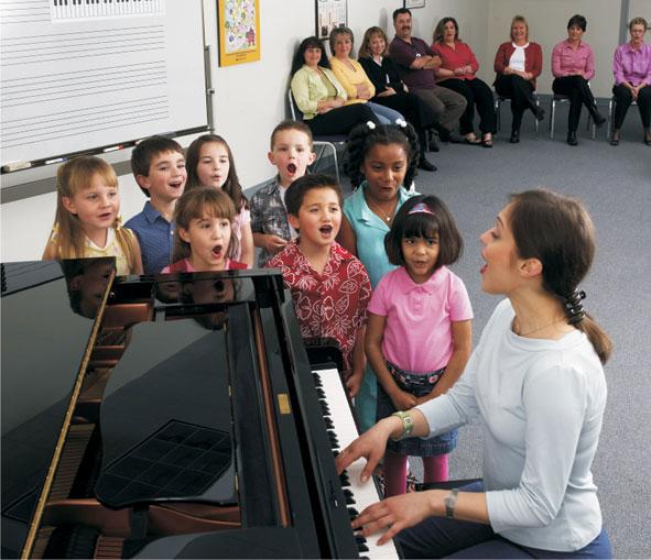 A Yamaha Music School